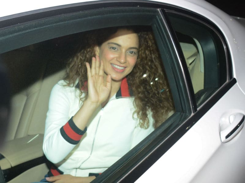 Kangana Ranaut, Swara Bhasker Watch Akshay's PadMan