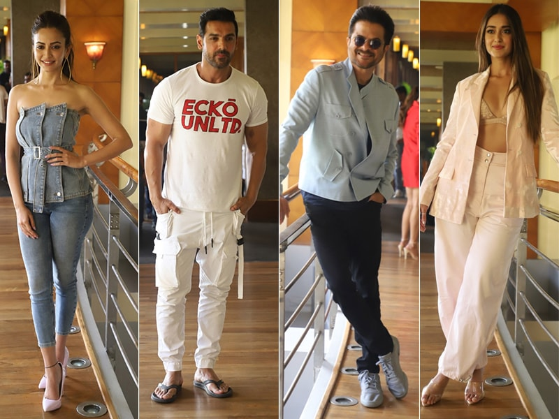 A Day Of Pagalpanti With Ileana, Kriti Kharbanda, John, Anil Kapoor
