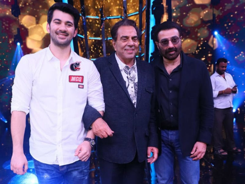 Dharmendra's Day Out With Karan And Sunny Deol For Pal Pal Dil Ke Paas