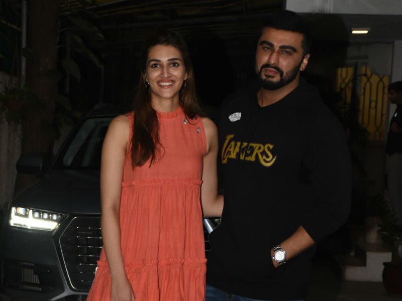 Inside Panipat Co-Stars Kriti Sanon And Arjun Kapoor's Busy Weekend