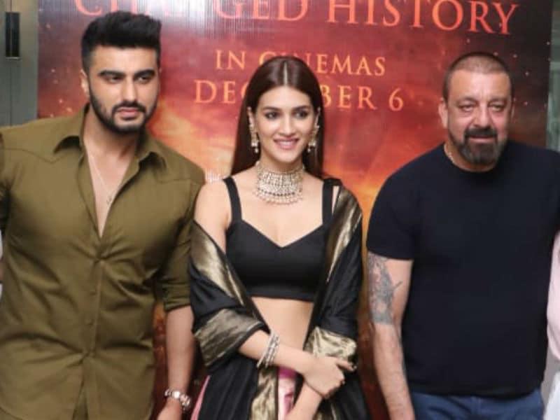 Arjun Kapoor, Kriti Sanon And Sanjay Dutt Made Panipat Trailer Preview A Stylish Affair