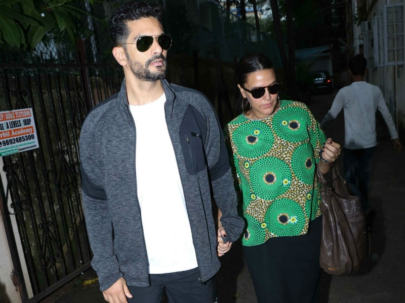 Neha Dhupia And Angad Bedi's Day Out