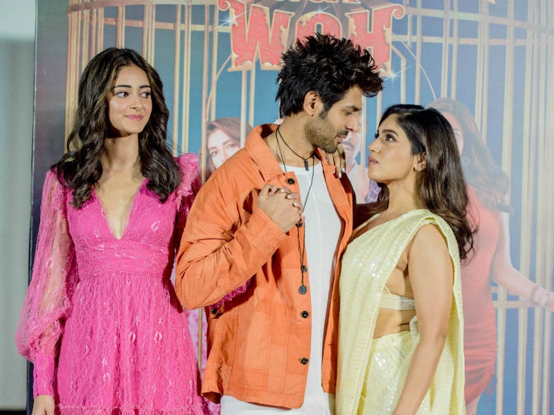 A Day With Pati Patni Aur Woh's Kartik Aaryan, Bhumi Pednekar And Ananya Panday