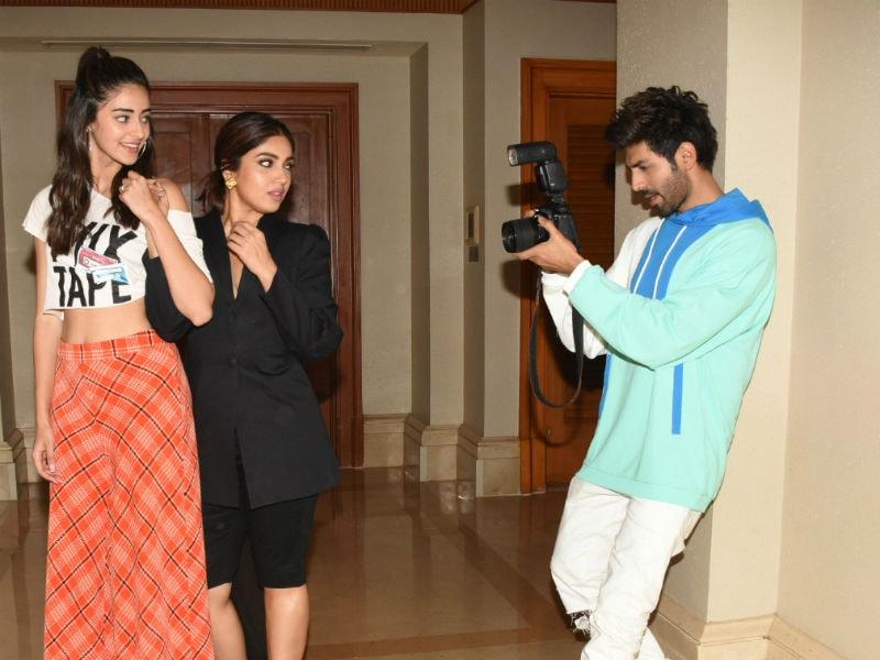 A Pati Patni Aur Woh Day With Ananya Panday, Kartik Aaryan And Bhumi Pednekar