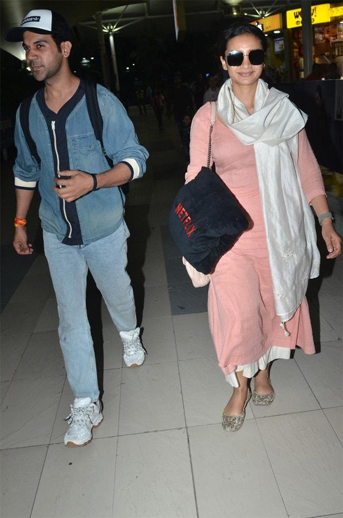 Arjun, Rajkummar And Patralekhaa\'s Airport Diaries