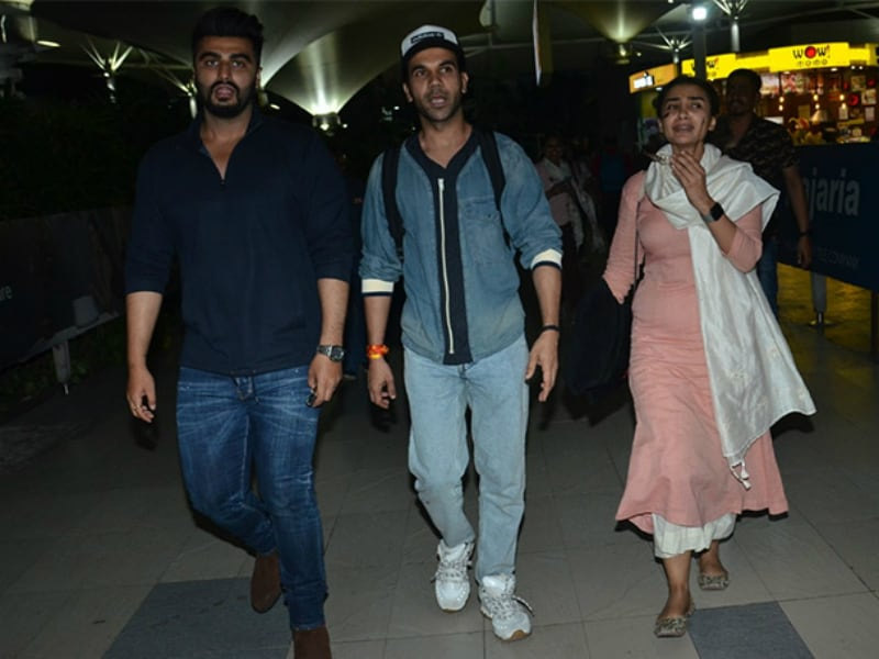 Arjun, Rajkummar And Patralekhaa's Airport Diaries
