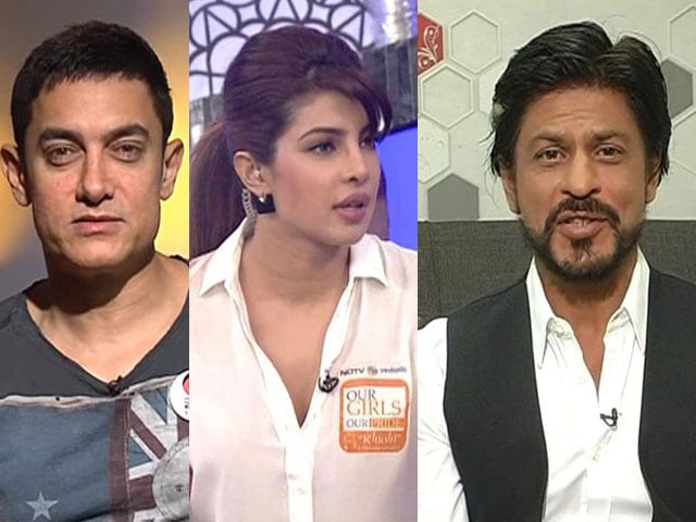 On Our Girls, Our Pride: Aamir, Priyanka, SRK