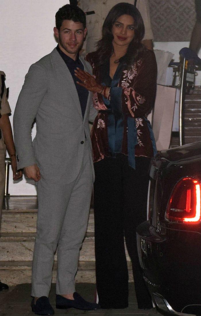 Work Mode On For Newlyweds Priyanka Chopra And Nick Jonas