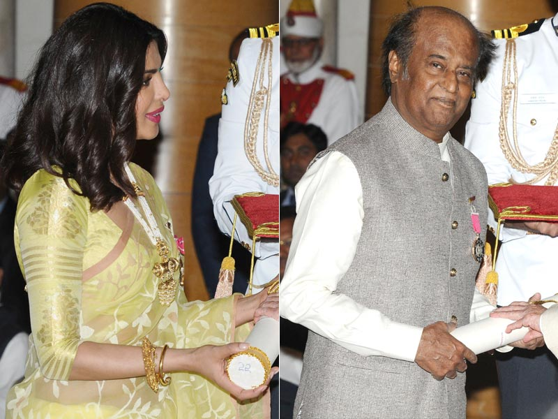 Inside the Padma Awards Ceremony With Priyanka, Rajinikanth