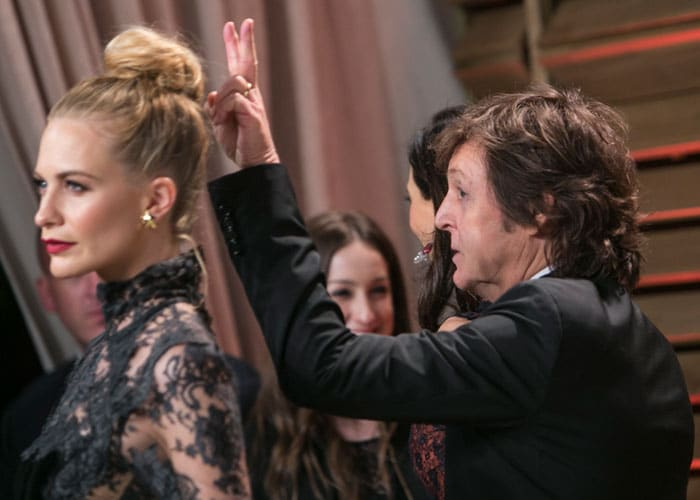 Oscar photobombers: Starring Sherlock, U2, Lupita, Jared, Anne and a Beatle