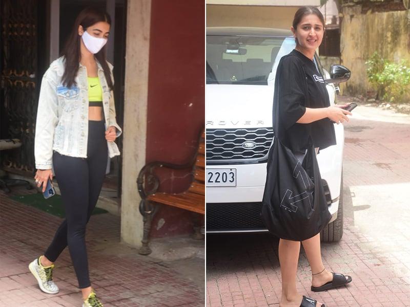 Photo : It's Gym'O Clock For Pooja Hegde And Dhvani Bhanushali