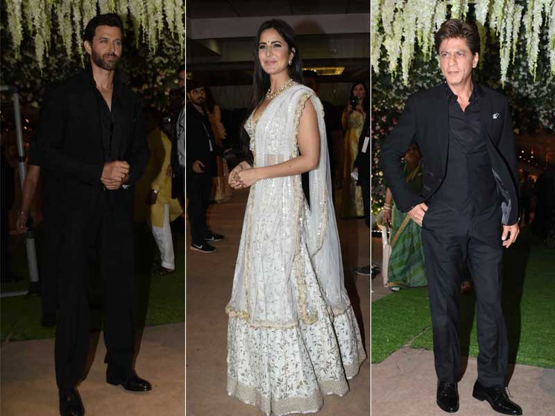 SRK, Katrina And Hrithik Add Glitter To Poorna Patel's Reception Party