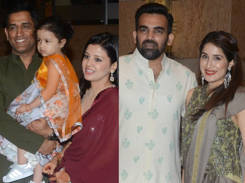 Dhonis, Zaheer-Sagarika Arrive In Style At Praful Patel's Daughter Poorna's Sangeet