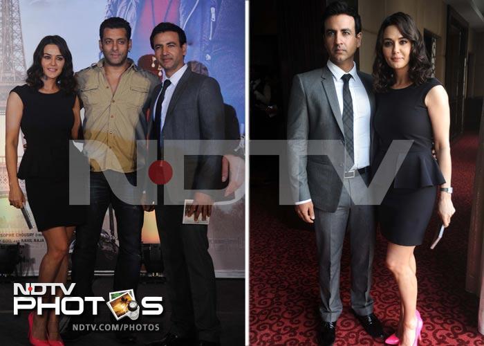 When Preity Zinta kissed Salman Khan
