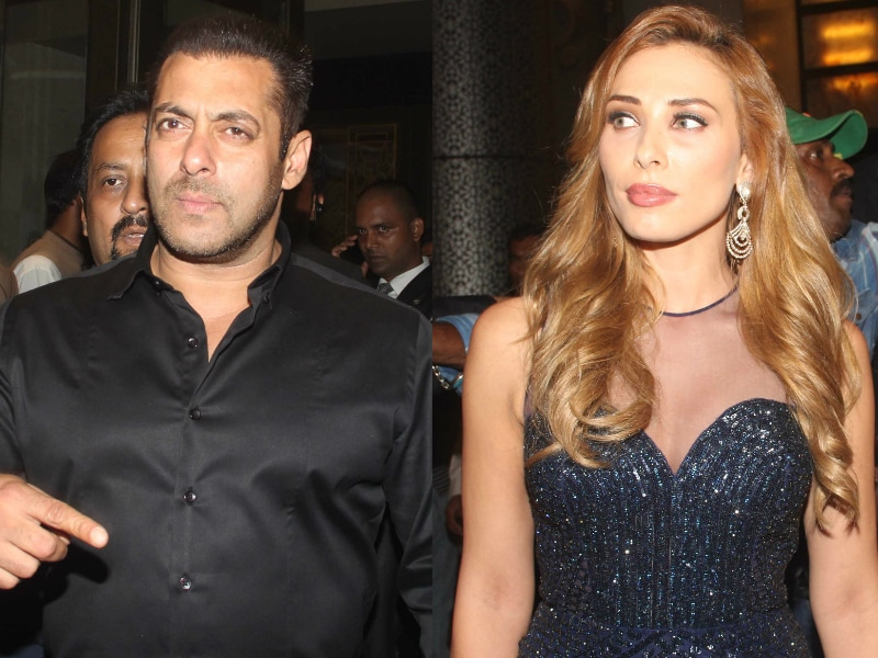 Salman Khan, Iulia and Other A-List Stars at Preity's Reception