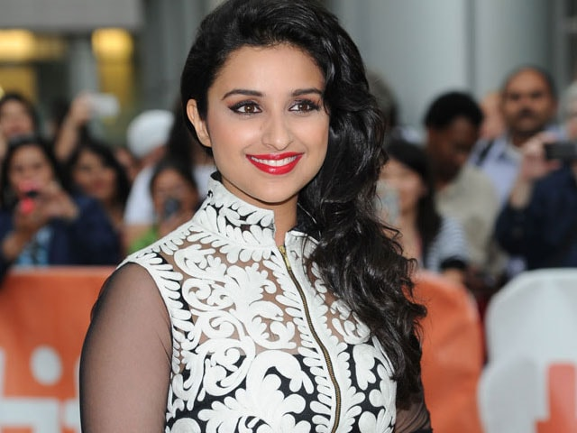 Sight for sore eyes: Parineeti at TIFF