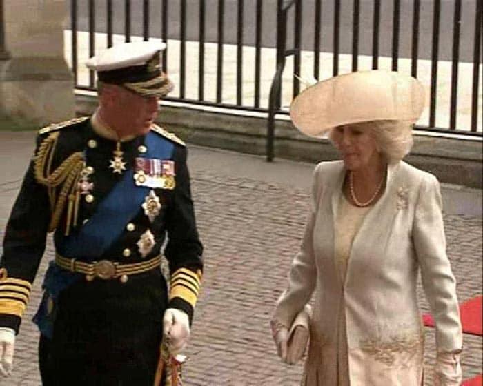 Prince Charles, Camilla arrive