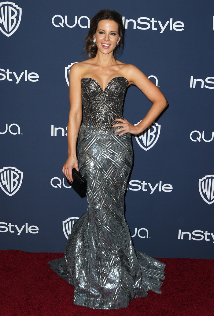 A desi girl at the Golden Globes after-parties