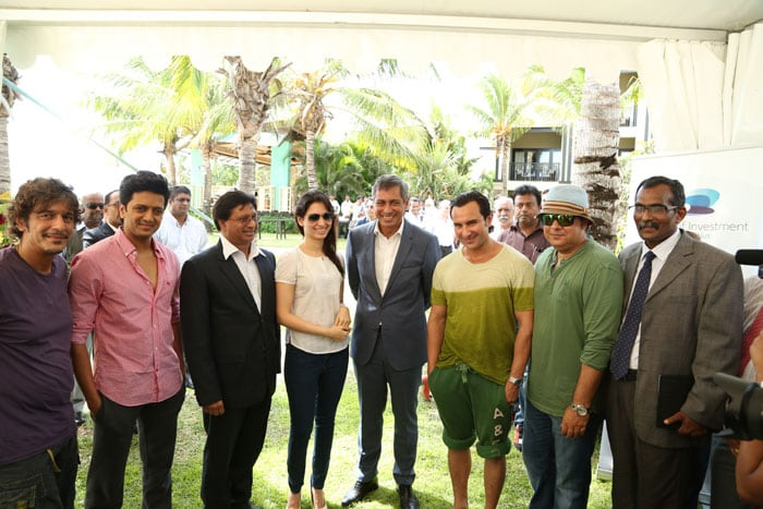 Lights, camera, action! The Humshakals call it a day