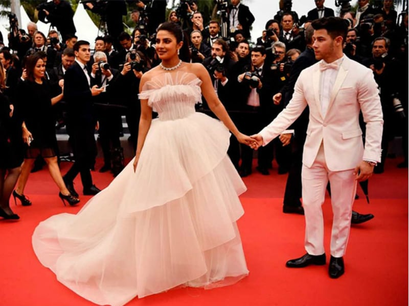 Cannes 2019: Priyanka Chopra And Nick Jonas Look Dreamy In All-White
