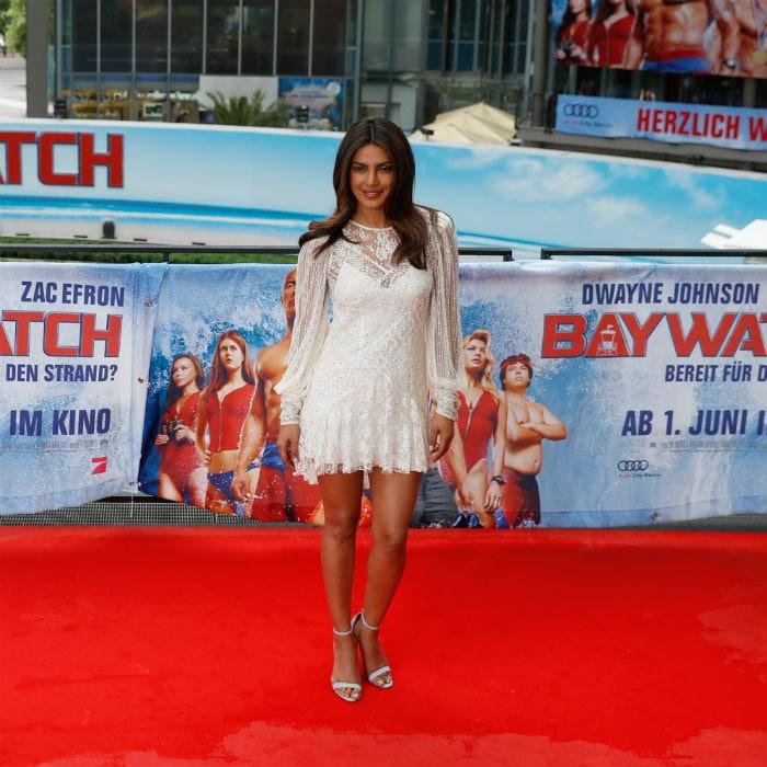 Priyanka Chopra\'s Baywatch Fashion In Berlin. Yay Or Nay?