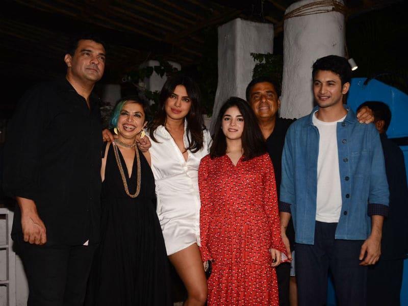 Priyanka Chopra Celebrates The Sky Is Pink Wrap With A Party