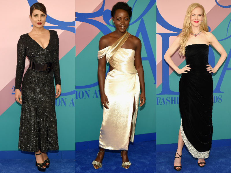 Priyanka, Lupita, Nicole Steal The Show At Fashion Awards