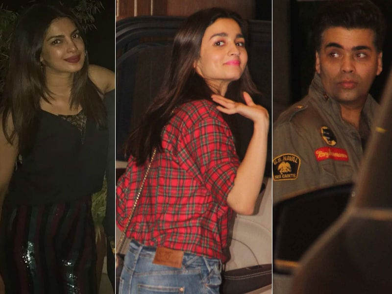 Priyanka Chopra's Party Night With Alia Bhatt, Karan Johar