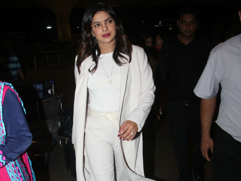 Priyanka Chopra's Airport Style Is On Point
