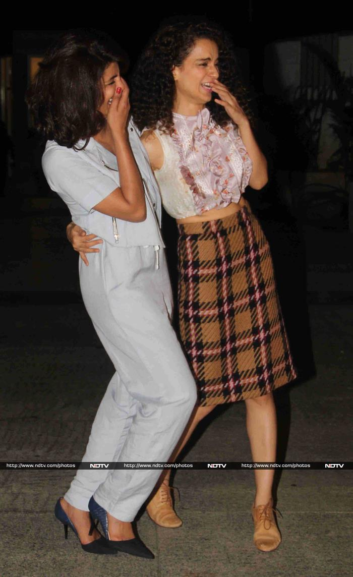 Party Pals: Mary Kom and Queen Celebrate With Shraddha, Vidya, Aamir