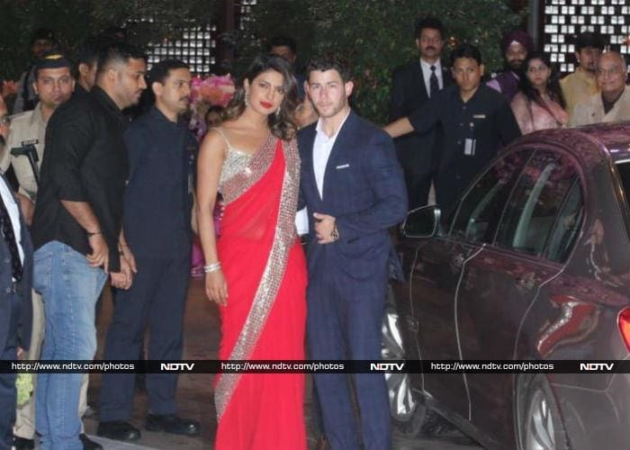 Priyanka Chopra-Nick Jonas attend Akash Ambani-Shloka Mehta's Party