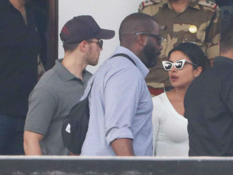 Priyanka Chopra And Nick Jonas Back In Mumbai After A Short Trip To Jodhpur