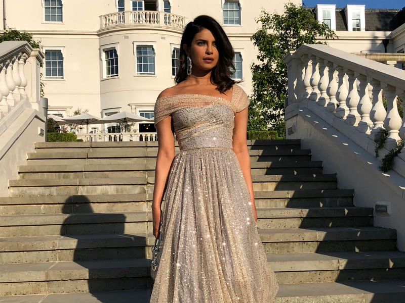 The Spotlight Followed Priyanka Chopra At Royal Wedding Reception
