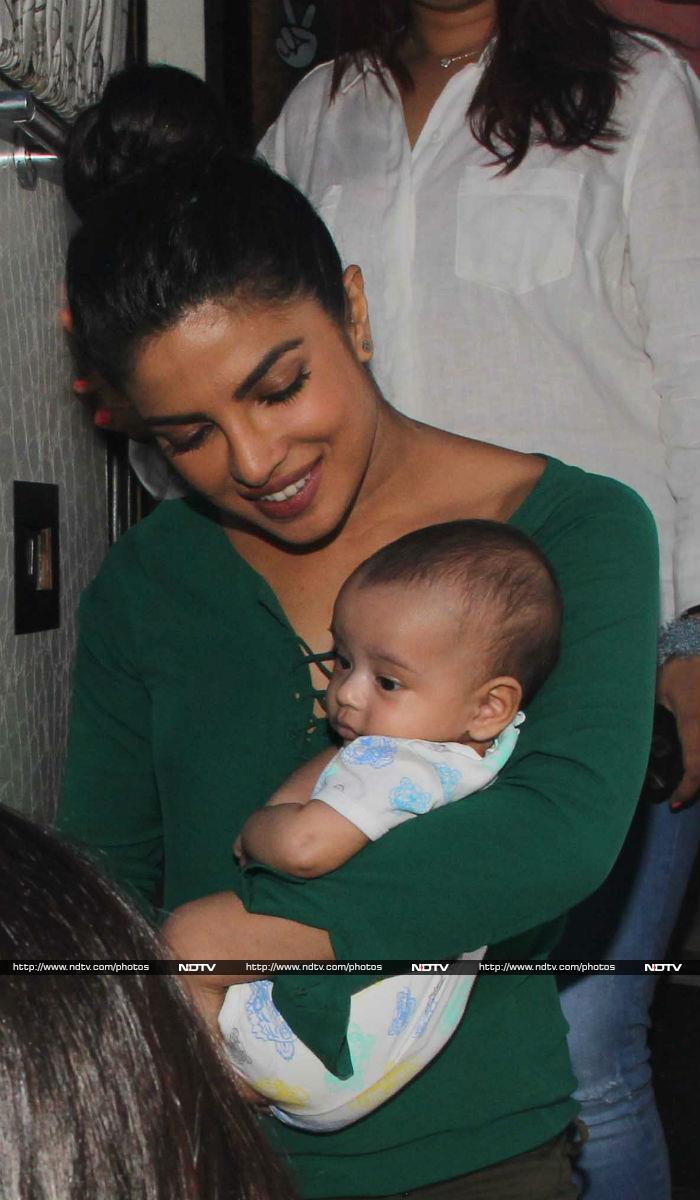 Priyanka Chopra\'s Lovely Date With Baby Ahil