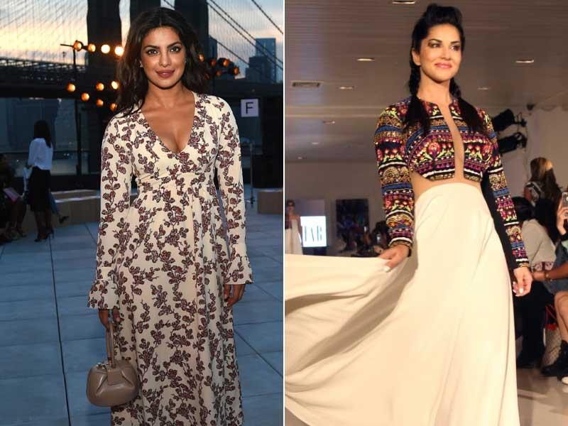 Priyanka To Sunny: India At New York Fashion Week