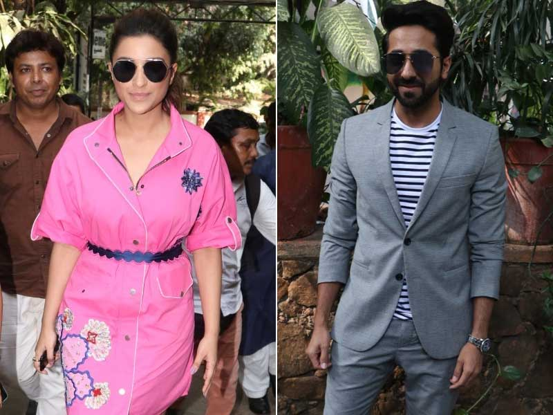 Pyaari Parineeti And Ayushmann Are Busy Stars