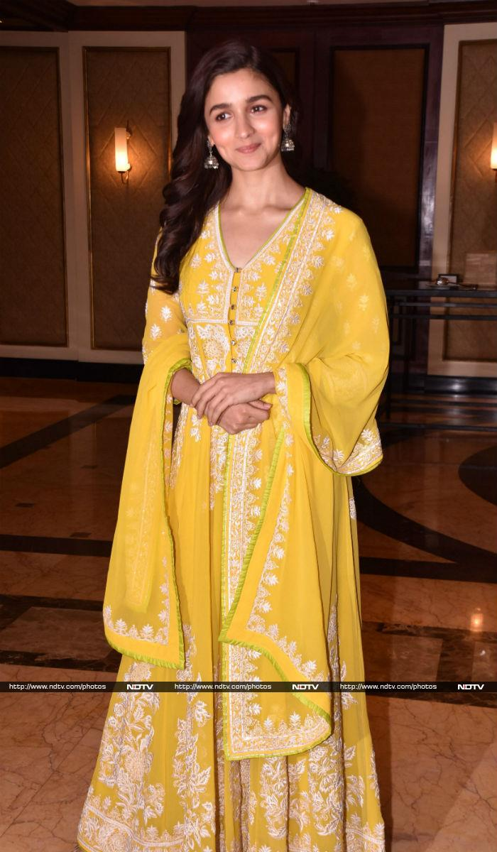 Alia Bhatt Takes The Party To Camp Raazi