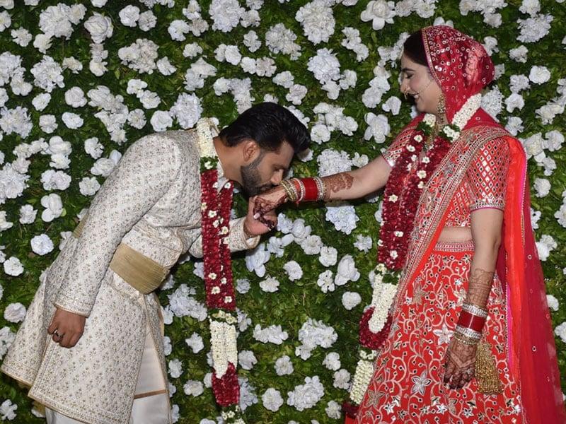 Photo : The Wedding Album: Rahul Vaidya-Disha Parmar Get Married