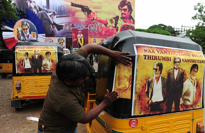 How Chennai Celebrated Rajinikanth\'s Kabali at 5 AM