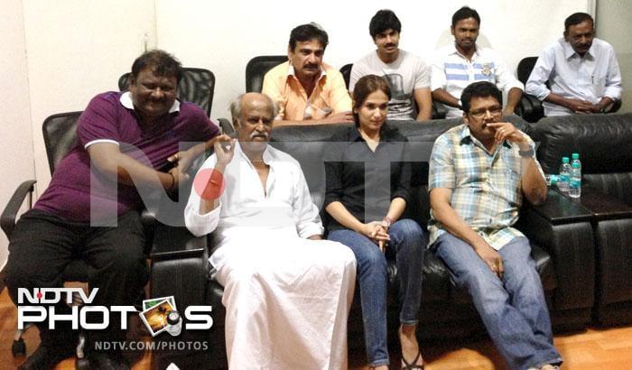 Rajinikanth at Kochadaiyaan preview
