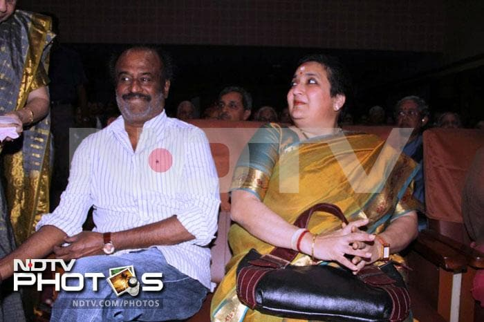 Rajinikanth\'s first outing in 2012