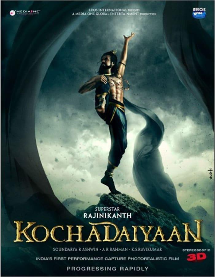 Rajinikanth\'s mega abs in Kochadaiyaan