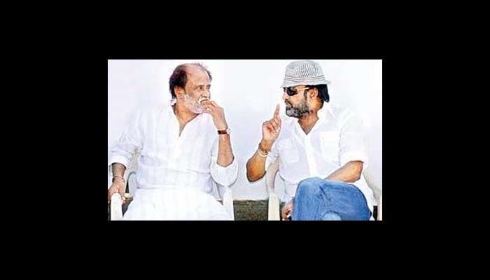 Mohan Babu meets best friend Rajini