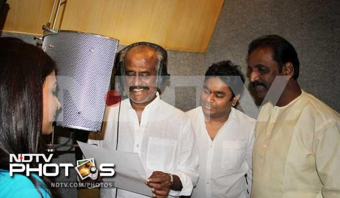 Rajinikanth sings for Kochadaiyaan