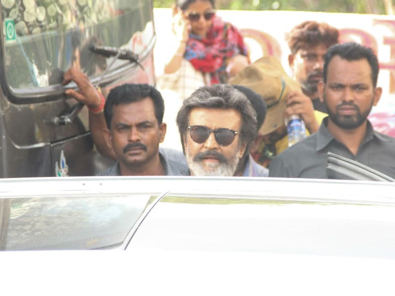 On The Sets Of Rajinikanth's Kaala Karikaalan