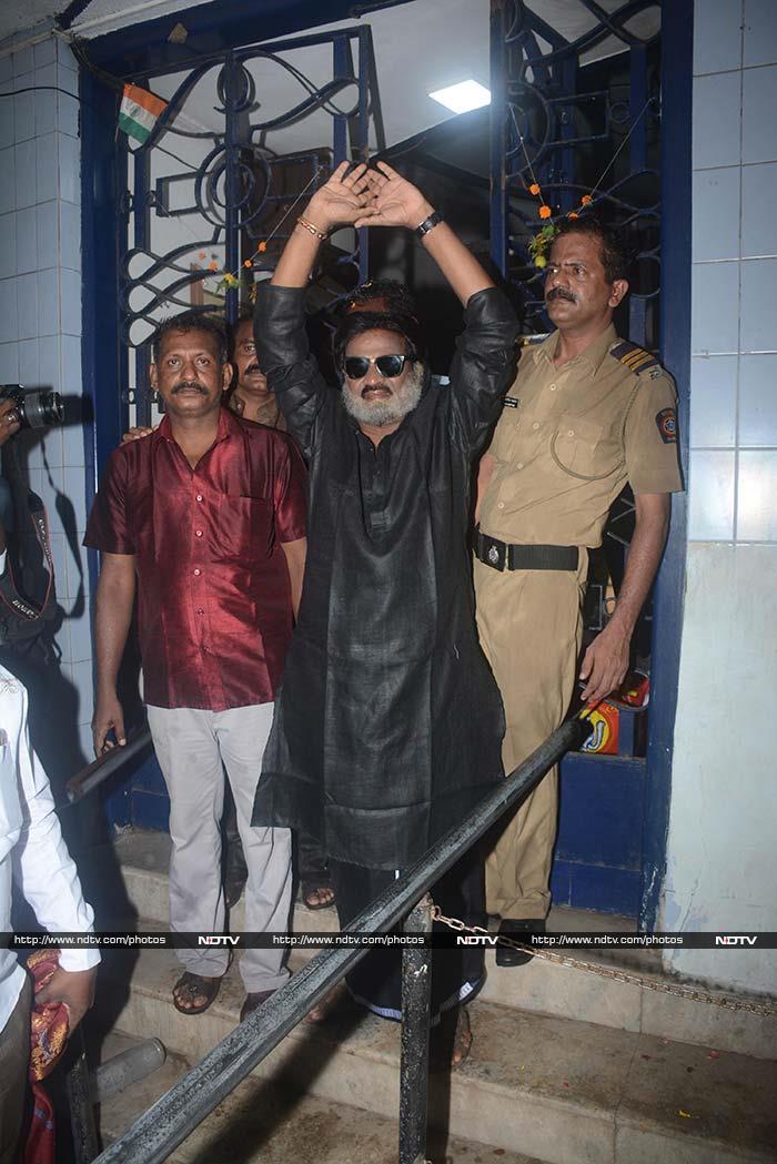 फिल्म 'काला' का मुंबई में हुआ दमदार स्वागत