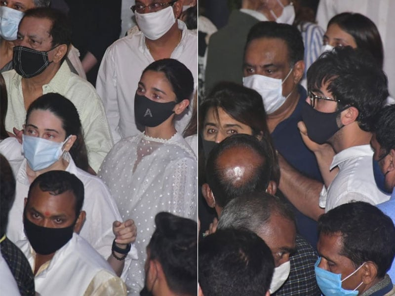 Photo : आलिया भट्ट, शाहरुख खान समेत इन सितारों ने राजीव कपूर को दी अंतिम विदाई