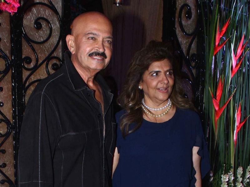 Rishi Kapoor, Neetu, Rekha At Rakesh Roshan's Birthday Bash