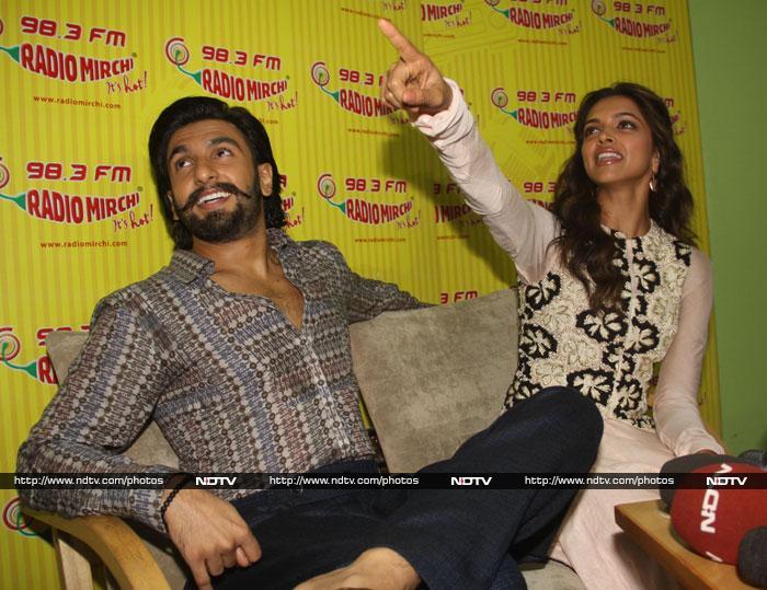 Tune in: Deepika, Ranveer are radio-active