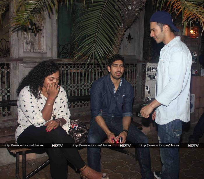 Boys\' Day Out:  Varun, Aryan, Aditya, Kunaal